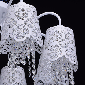 Hanging lamp Pauline Elegance 8 White - 472010508 small 6