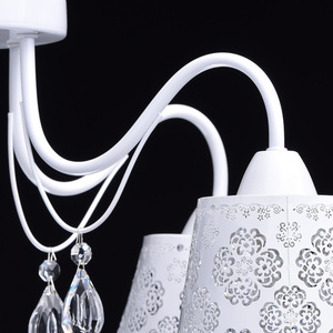 Hanging lamp Pauline Elegance 8 White - 472010508 small 8