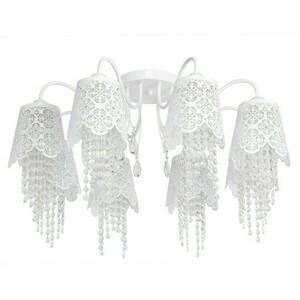 Hanging lamp Pauline Elegance 8 White - 472010508 small 0
