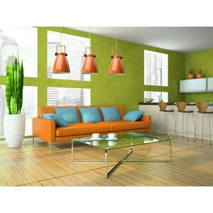 Hanging lamp Megapolis 1 Orange - 497011901 small 8