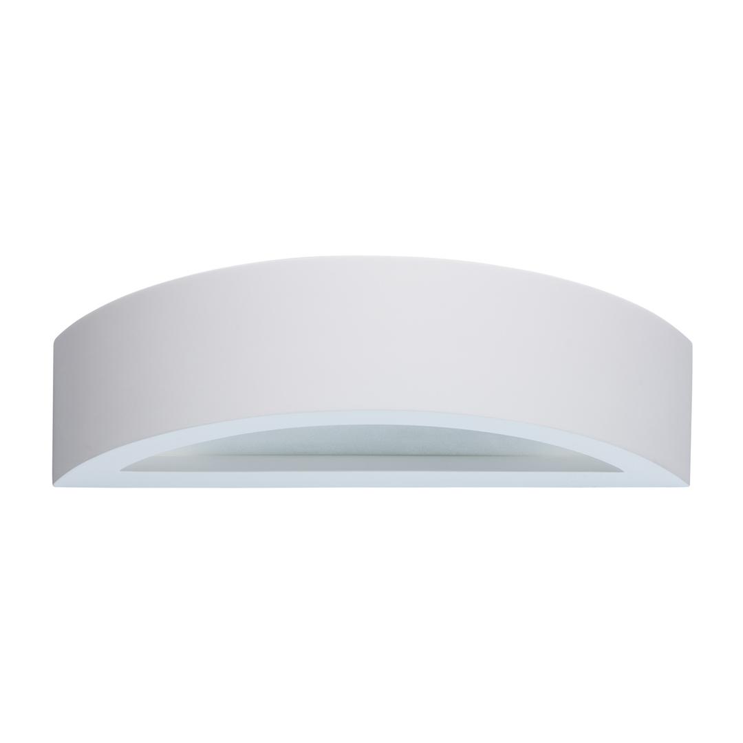 Baruth Techno 1 White Wall Lamp - 499021801
