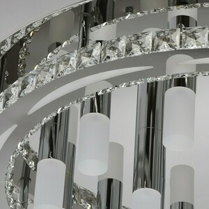 Techno 36 Chandelier Silver - 498010355 small 4