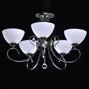 Hanging lamp Porto Megapolis 5 Chrome - 315011805 small 1