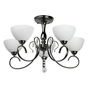 Hanging lamp Porto Megapolis 5 Chrome - 315011805 small 0
