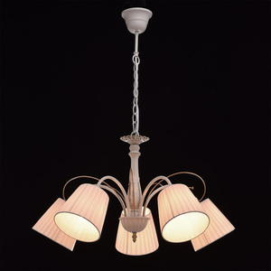 Hanging lamp Vitalina Elegance 5 Beige - 448010605 small 2