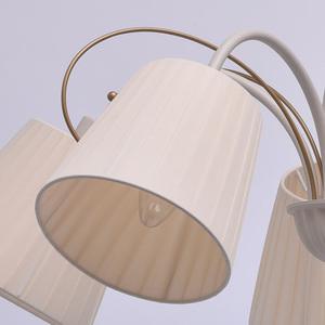 Hanging lamp Vitalina Elegance 5 Beige - 448010605 small 3