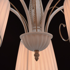 Hanging lamp Vitalina Elegance 5 Beige - 448010605 small 8