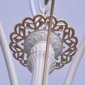 Hanging lamp Vitalina Elegance 5 Beige - 448010605 small 9