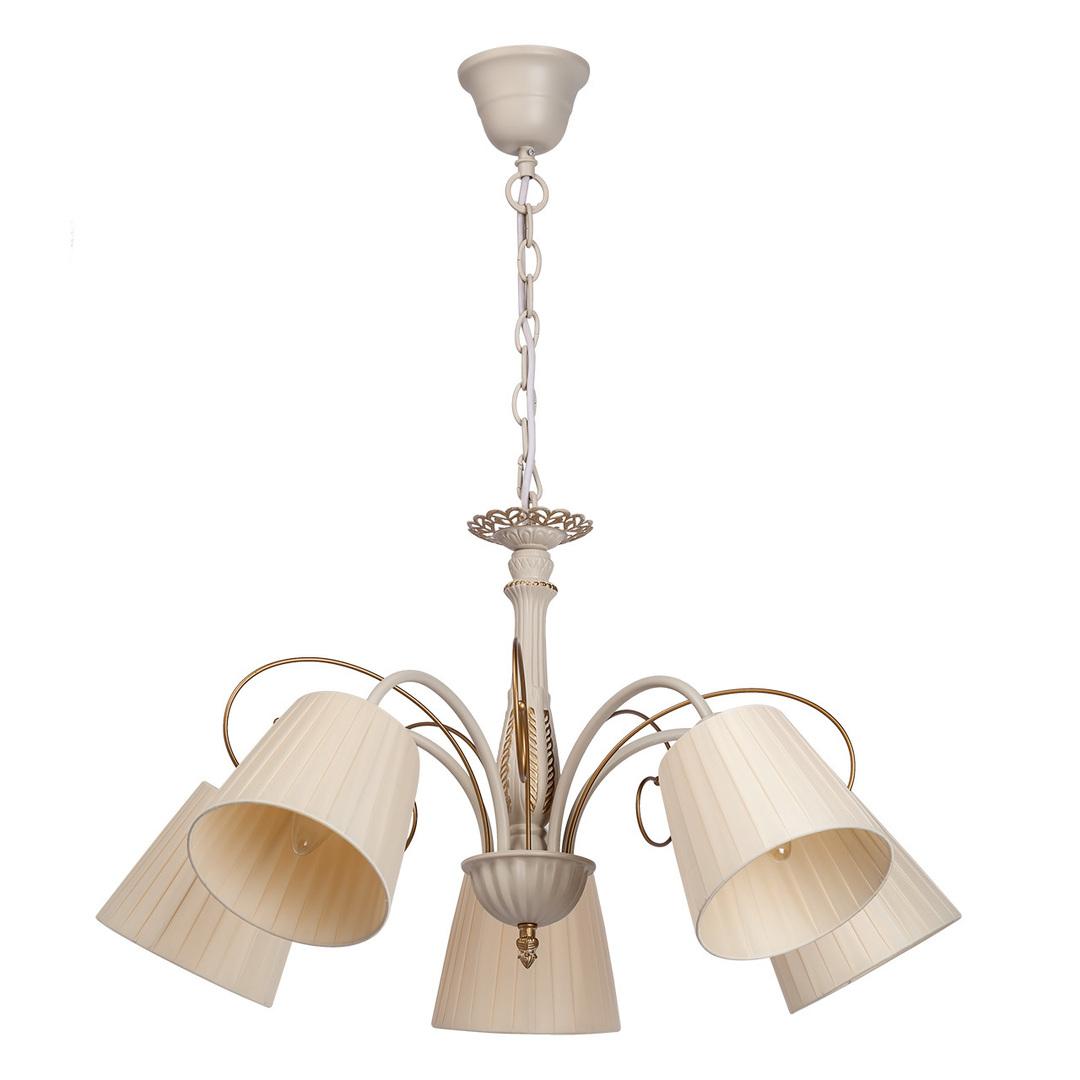 Hanging lamp Vitalina Elegance 5 Beige - 448010605