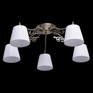 Hanging lamp Monica Classic 5 Brass - 372011105 small 1