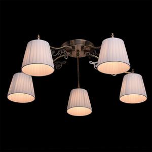 Hanging lamp Monica Classic 5 Brass - 372011105 small 2