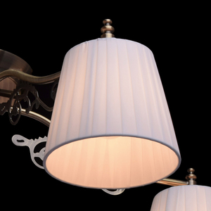 Hanging lamp Monica Classic 5 Brass - 372011105 small 4