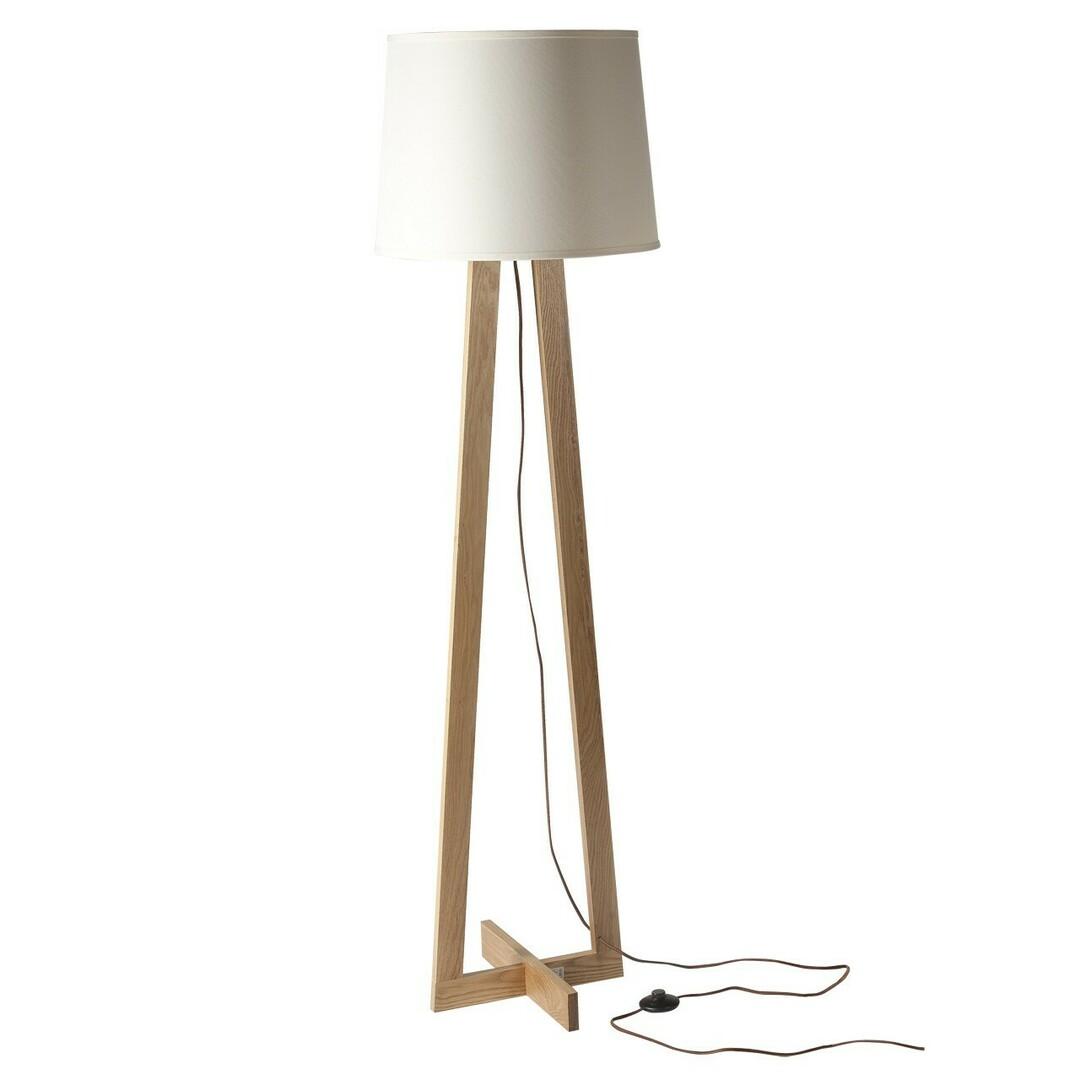 Floor Lamp Bernau Megapolis 1 Beige - 490040201