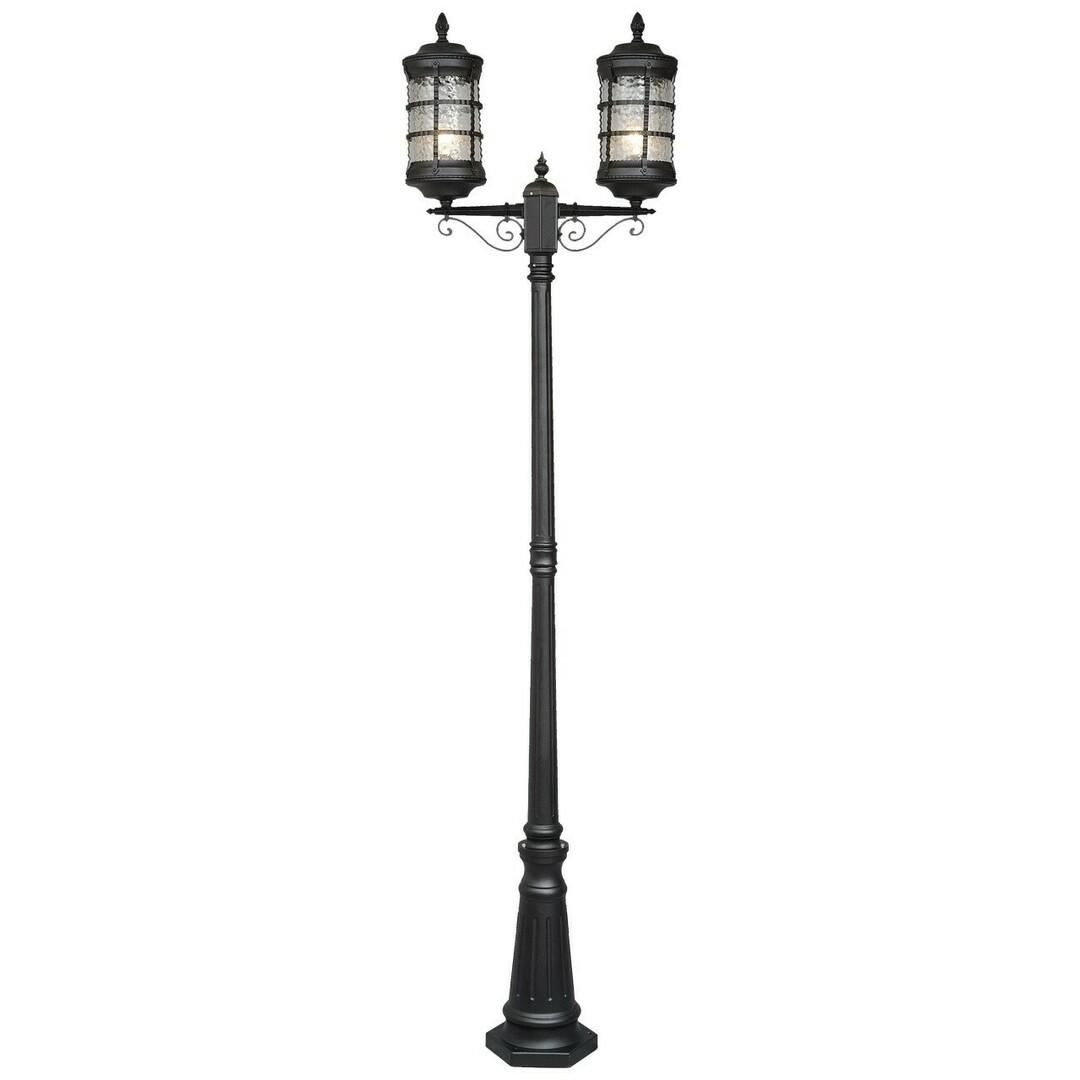 Garden lamp Donato Street 2 Black - 810040602
