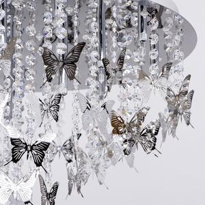 Hanging lamp Carmen Elegance 18 Chrome - 394010318 small 4
