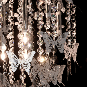 Hanging lamp Carmen Elegance 18 Chrome - 394010318 small 5