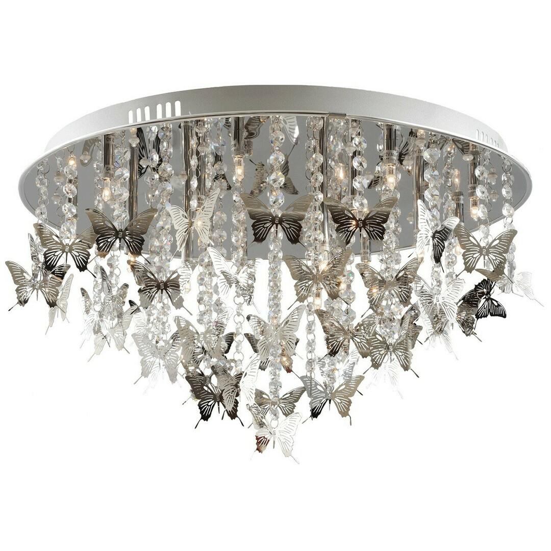 Hanging lamp Carmen Elegance 18 Chrome - 394010318