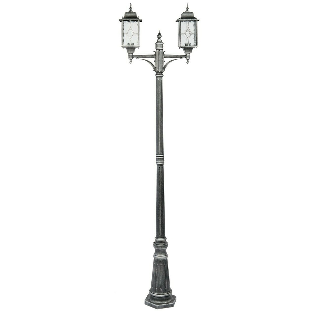Garden lamp Burgos Street 2 Black - 813040602