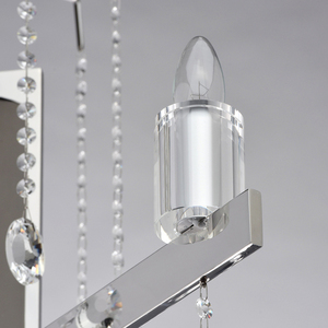 Ramona Crystal 8 Chandelier Chrome - 613010108 small 3