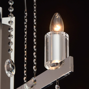 Ramona Crystal 8 Chandelier Chrome - 613010108 small 4