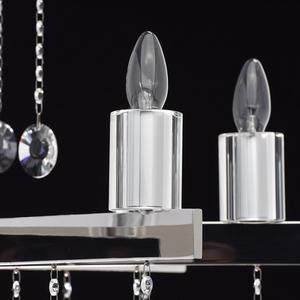 Ramona Crystal 8 Chandelier Chrome - 613010108 small 5