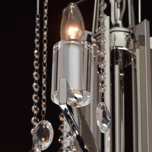 Ramona Crystal 8 Chandelier Chrome - 613010108 small 6