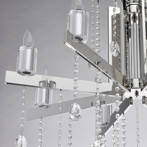 Ramona Crystal 8 Chandelier Chrome - 613010108 small 9