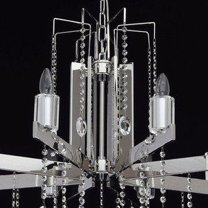 Ramona Crystal 8 Chandelier Chrome - 613010108 small 10