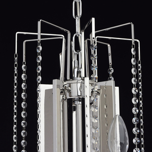Ramona Crystal 8 Chandelier Chrome - 613010108 small 11