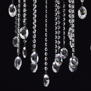 Ramona Crystal 8 Chandelier Chrome - 613010108 small 14