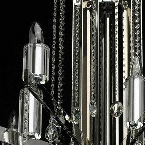 Ramona Crystal 18 Chrome Chandelier - 613010218 small 13