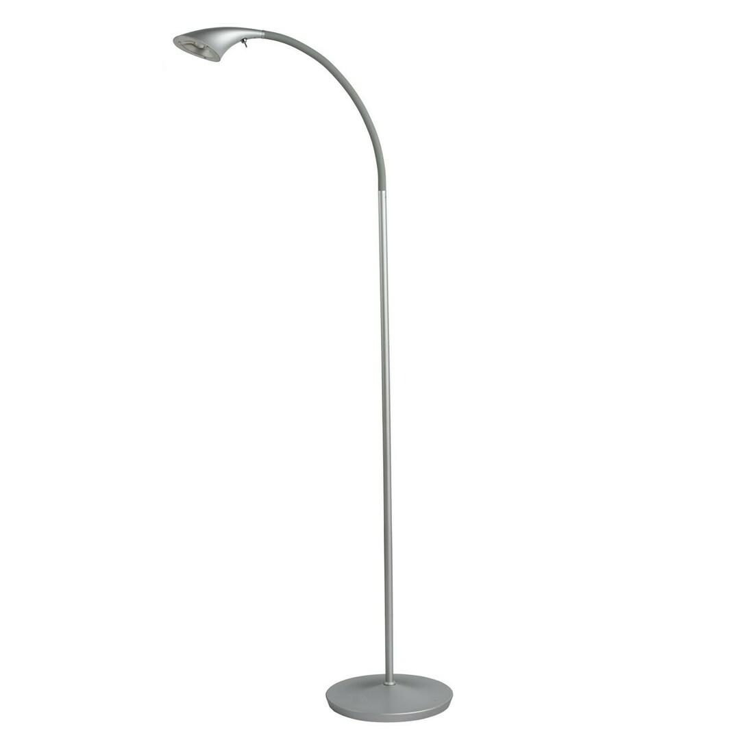 Stuttgart Hi-Tech 1 Floor Lamp Silver - 631040101