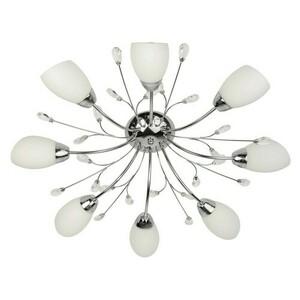 Hanging lamp Savona Megapolis 8 Chrome - 356015408 small 1