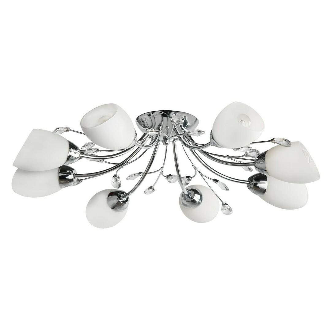 Hanging lamp Savona Megapolis 8 Chrome - 356015408