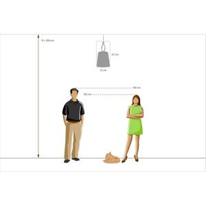 Hanging lamp Inessa Elegance 1 Chrome - 460010301 small 10