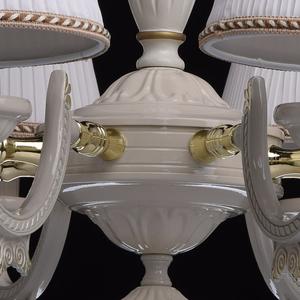 Ariadna Classic 8 Beige Chandelier - 450012808 small 9