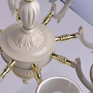 Ariadna Classic 8 Beige Chandelier - 450012808 small 10