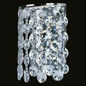 Wall lamp Pearl Crystal 3 Chrome - 232024303 small 1