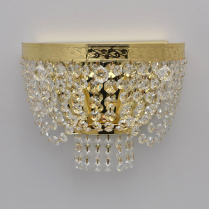 Wall lamp Isabella Crystal 2 Gold - 351021202 small 3