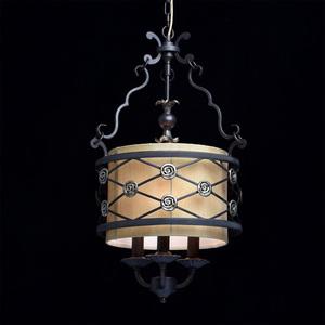 Hanging lamp Magdalena Country 3 Brown - 382 016 103 small 1