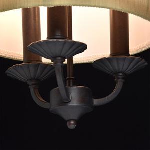 Hanging lamp Magdalena Country 3 Brown - 382 016 103 small 4