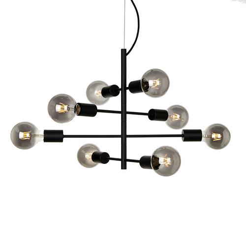 Black Hanging Lamp Portel