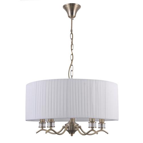 Antique Hanging Lamp Ferlena E14 5-bulb