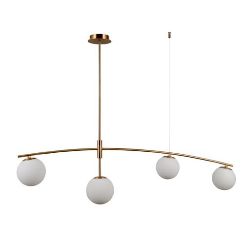 Senai G9 Honey Pendant Lamp, 4-bulb