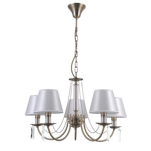 Antique Hanging Lamp Solana E14 5-bulb