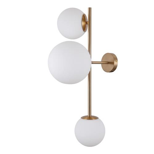 Modern Honey Wall lamp Vailante E27 3-bulb