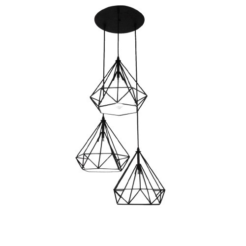 Hanging lamp Diament Abigali Diamond III