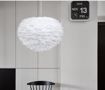 Abigali Feather pendant lamp