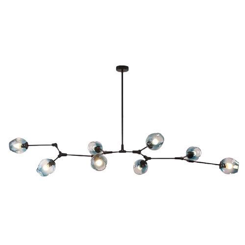 Abigali MD2003-9PCS-JG Dawson ceiling lamp
