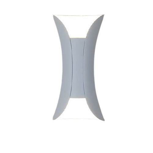 Outdoor wall lamp Abigali White IP65 2x5W 3000K